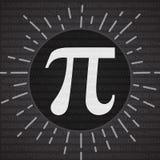Gelukkige Pi-Dagbanner 14 Maart 3 14 cijfers van Pi-Vector vector illustratie