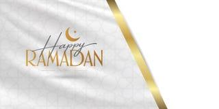 Gelukkige Ramadan Heilige maand van moslim communautaire Ramazan Aanplakbord, Affiche, Sociale Media, het malplaatje van de Groet vector illustratie
