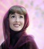 Gelukkige rijpe vrouw royalty-vrije stock afbeelding