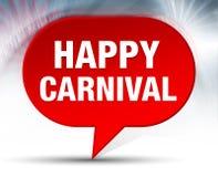 Gelukkige Rode de Bellenachtergrond van Carnaval royalty-vrije stock foto's