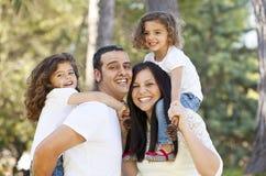 Gelukkige Spaanse mensen Stock Foto's