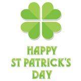 Gelukkige St Patrick Dag Royalty-vrije Stock Afbeeldingen
