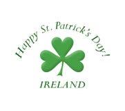 Gelukkige St. Patrick dag! Stock Foto