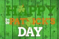 Gelukkige St Patricks dag stock afbeelding