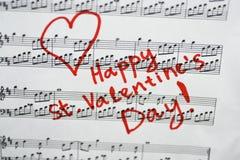 Gelukkige St Valentijnskaartendag Stock Foto