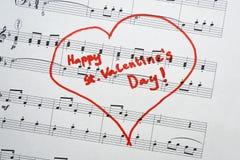 Gelukkige St Valentijnskaartendag Royalty-vrije Stock Foto