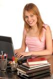 Gelukkige student Stock Foto