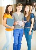 Gelukkige Studenten Stock Afbeelding