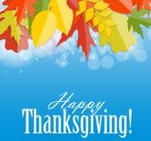 Gelukkige thanksgiving dayachtergrond Stock Foto's