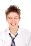 Gelukkige tiener Stock Foto's