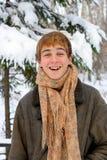 Gelukkige tiener Stock Foto
