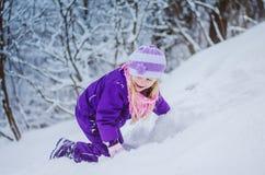 Gelukkige tijd in de wintertijd royalty-vrije stock fotografie