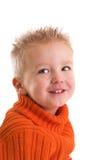 Gelukkige twee éénjarigen stock foto