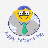 Gelukkige Vader` s dag Stock Afbeelding