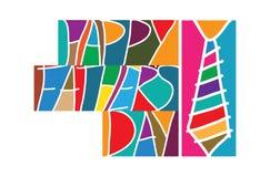 Gelukkige Vaderdag stock illustratie
