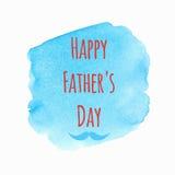 Gelukkige Vaderdagachtergrond Royalty-vrije Stock Afbeelding