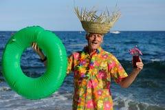 Gelukkige vakantie Royalty-vrije Stock Foto's