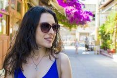 Gelukkige vakantie in Kreta royalty-vrije stock fotografie