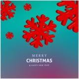 Gelukkige vakantie Vrolijke Kerstmis en Gelukkig nieuw jaar kleurrijk vectorontwerp 2017 Stock Foto's