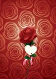 Gelukkige valentijnskaart royalty-vrije illustratie