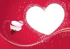 Gelukkige valentijnskaart stock illustratie