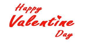 Gelukkige valentijnskaart Stock Fotografie