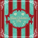 Gelukkige valentijnskaartendag Stock Afbeeldingen