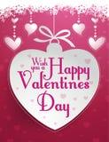 Gelukkige Valentijnskaartendag Royalty-vrije Stock Fotografie