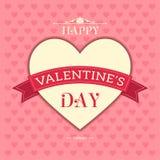 Gelukkige valentijnskaartendag Royalty-vrije Stock Foto