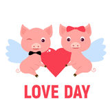 Gelukkige valentijnskaartendag Stock Afbeelding