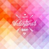 Gelukkige valentijnskaartendag Stock Fotografie
