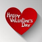 Gelukkige valentijnskaartendag, hart Royalty-vrije Stock Foto's