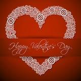 Gelukkige Valentines Dag royalty-vrije illustratie