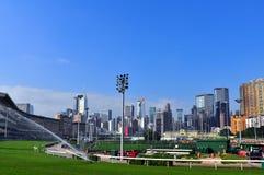 Gelukkige valleirenbaan, Hongkong Royalty-vrije Stock Foto