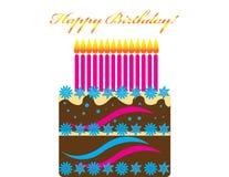 Gelukkige Verjaardag! Stock Afbeelding