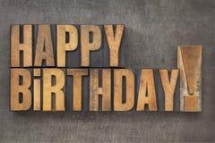 Gelukkige Verjaardag! Royalty-vrije Stock Foto