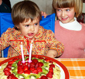 Gelukkige verjaardag! Royalty-vrije Stock Afbeelding