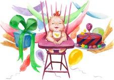 Gelukkige Verjaardag Royalty-vrije Stock Afbeelding