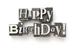 Gelukkige Verjaardag! Royalty-vrije Stock Foto's
