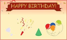 Gelukkige Verjaardag Stock Afbeelding