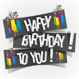 Gelukkige Verjaardag aan u Groetkaart