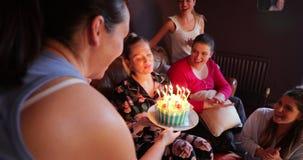 Gelukkige verjaardag aan u stock video