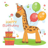 Gelukkige Verjaardagsachtergrond. royalty-vrije illustratie