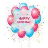 Gelukkige verjaardagskaart Stock Foto's