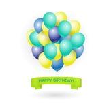 Gelukkige verjaardagskaart Royalty-vrije Stock Fotografie