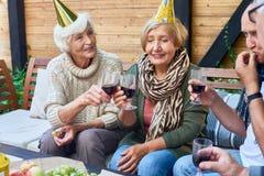 Gelukkige verjaardagspartij royalty-vrije stock fotografie