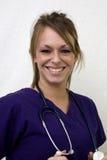 Gelukkige verpleegster Stock Fotografie