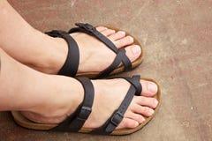 Gelukkige voeten Royalty-vrije Stock Foto