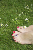 Gelukkige voeten Royalty-vrije Stock Afbeeldingen