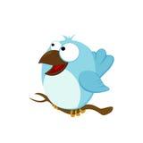Gelukkige vogel stock illustratie